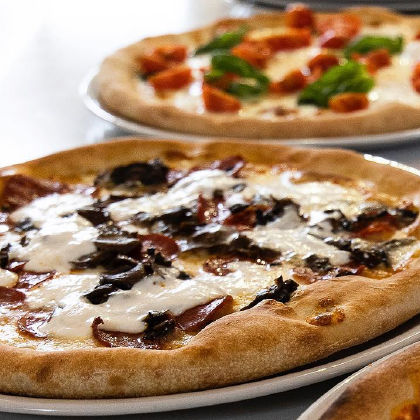 Le pizze gourmet di Villa Cocca