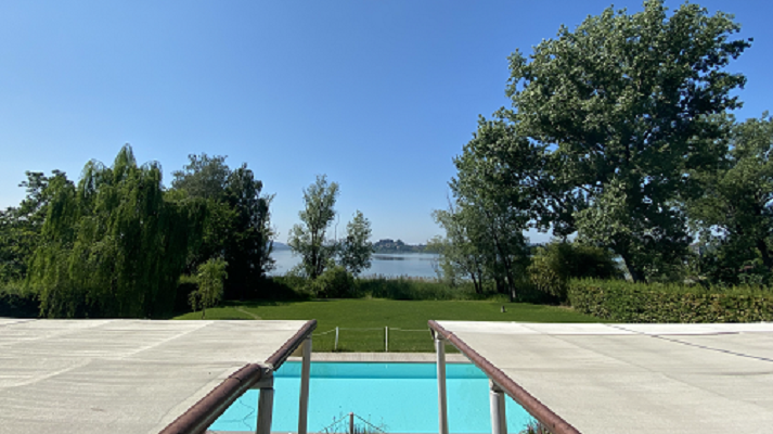 La piscina di Villa Cocca
